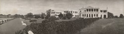[Panoramic view of] Government House, Ghindy [sic].